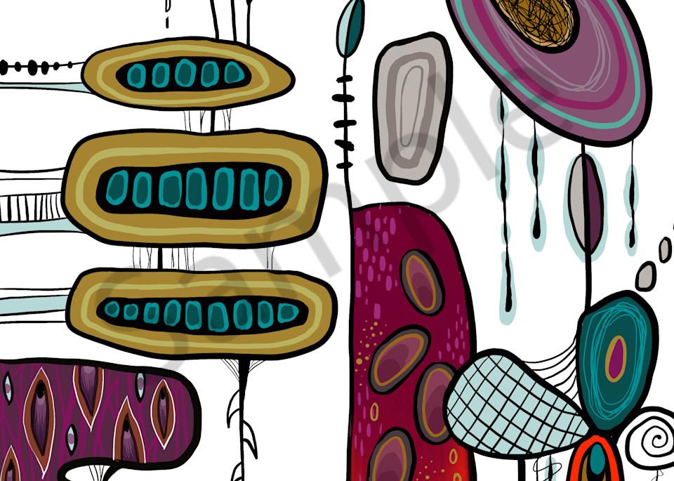 Retro Abstract Play 01 Art   Kyle Creative