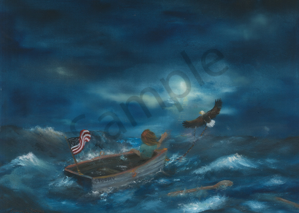 """""""Only God Can Save Us"""" by Pennsylvania Artist Nancy Swope 