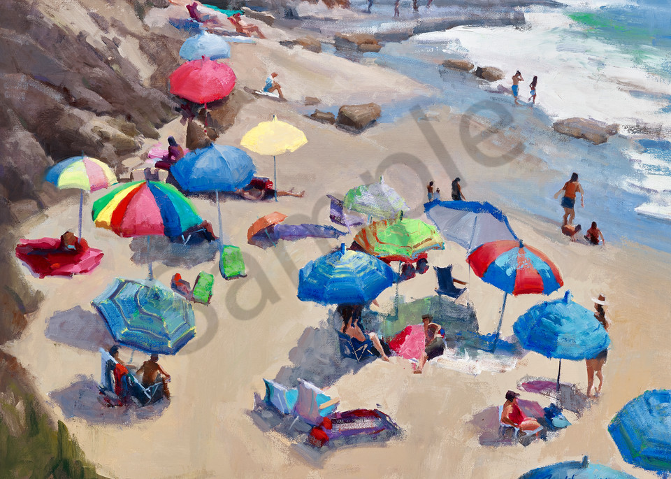 Beach Umbrellas - Summer Fun