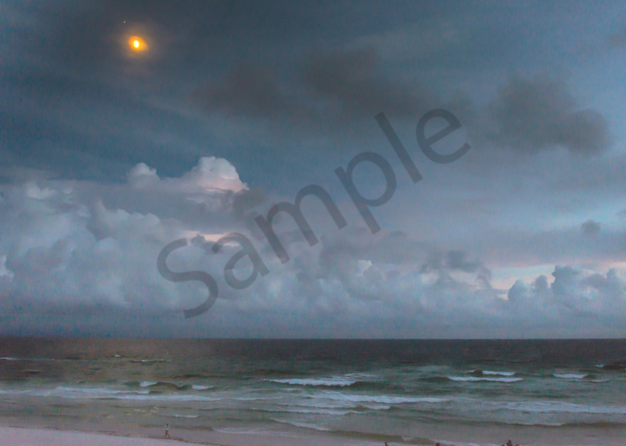 Moonrise Over the Emerald Coast | Susan J Photography
