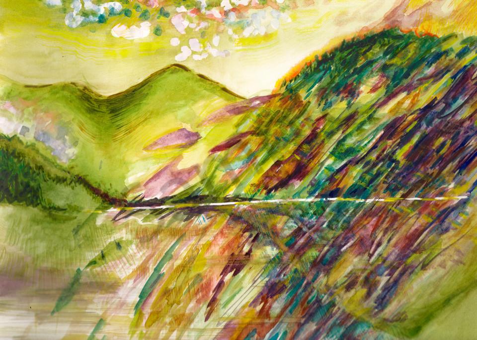 Mountain Mirror Art   Marisela Bracho
