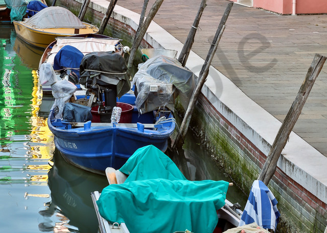 Colors of Burano Photograph