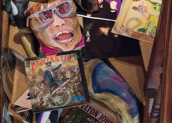 2018  Elton John  Switzerland Art   BODYPAINTOGRAPHY