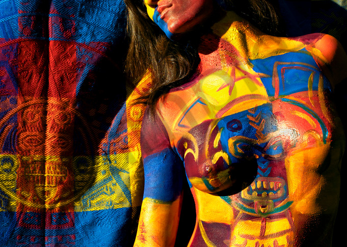 2010   Mayan Tapestry   Florida Art | BODYPAINTOGRAPHY