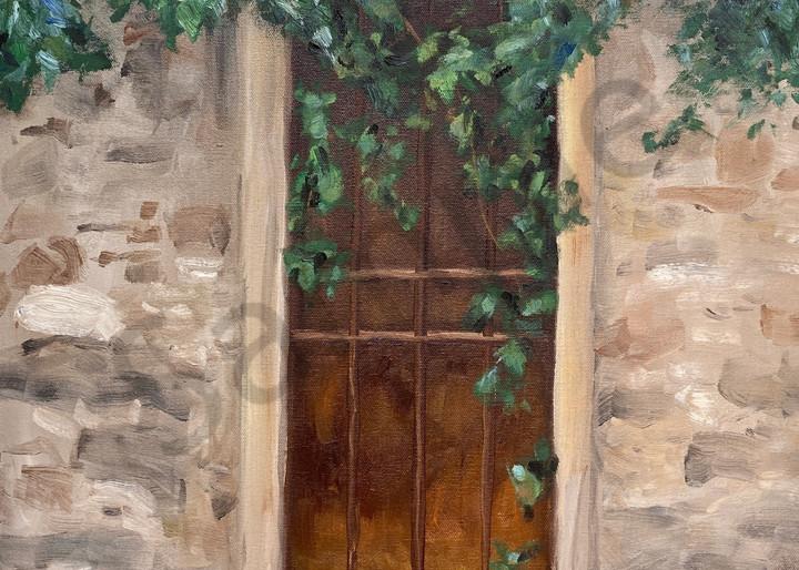 Italian Door Florence Painting