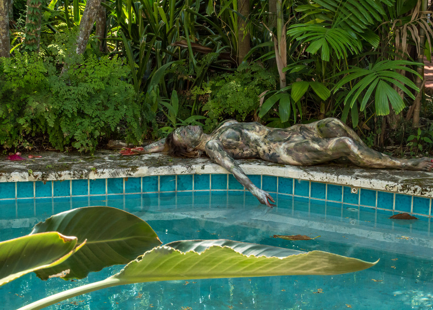 2017  Coral Pool  Florida Art | BODYPAINTOGRAPHY