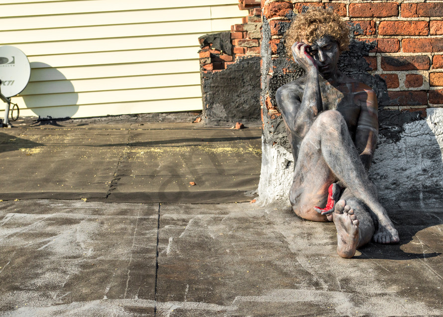 2014 Rooftop New York Art   BODYPAINTOGRAPHY