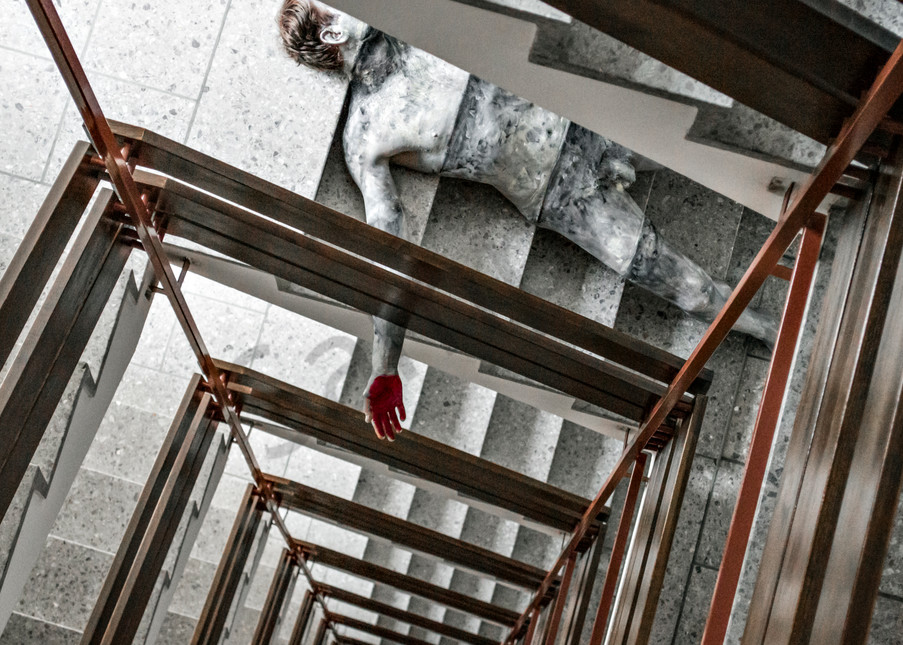 2014 Staircase Switzerland Art | BODYPAINTOGRAPHY