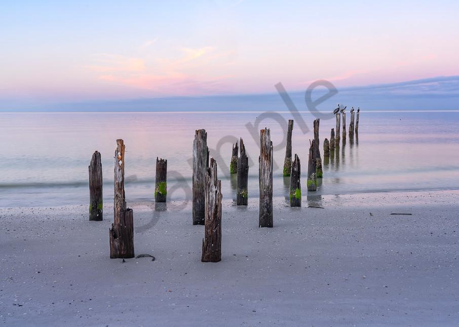 0188 Posts Ft Myers Beach Art | Cunningham Gallery