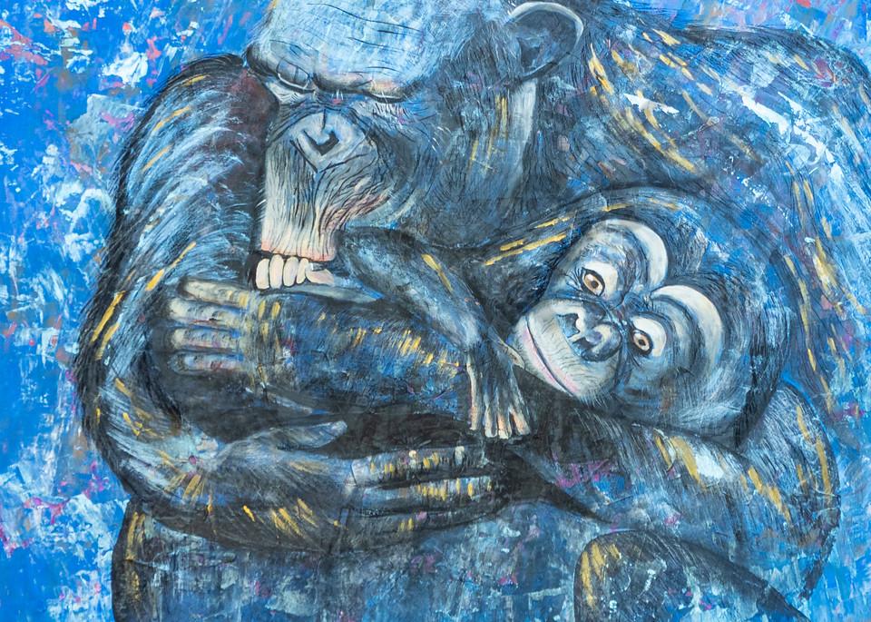 """Monkey"" by German Artist Angela Günther   Prophetics Gallery"