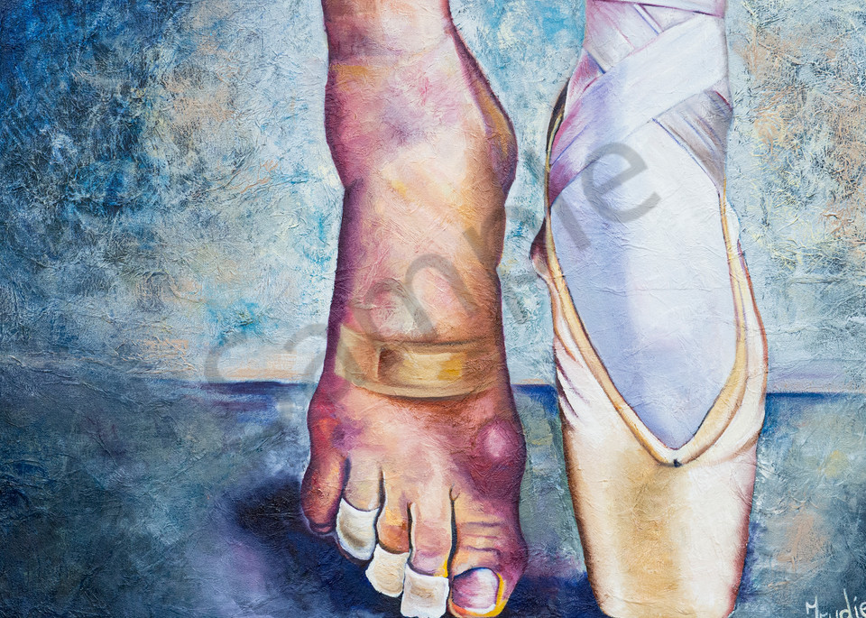 """""""Endurance"""" by South African Artist Trudie Oosthuizen 