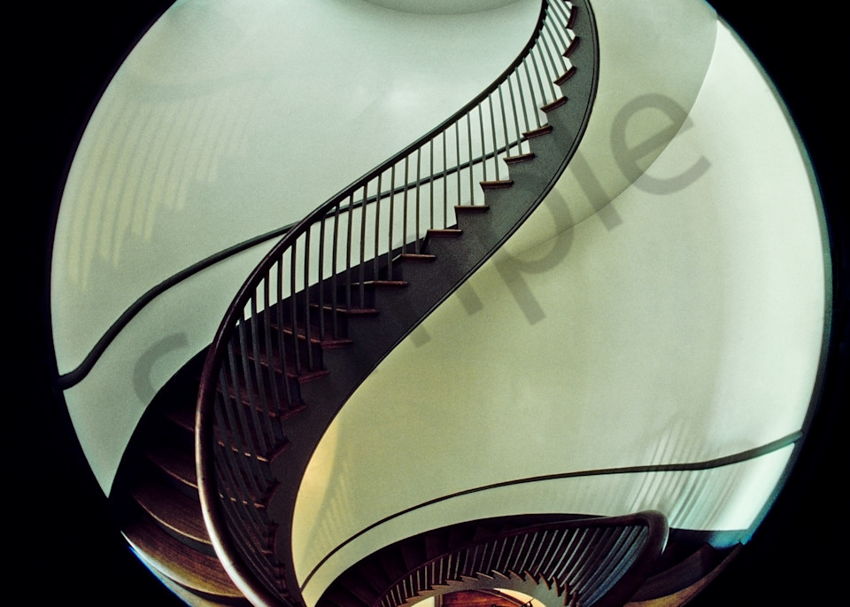 Shaker spiral staircase, Pleasant Hill, Kentucky