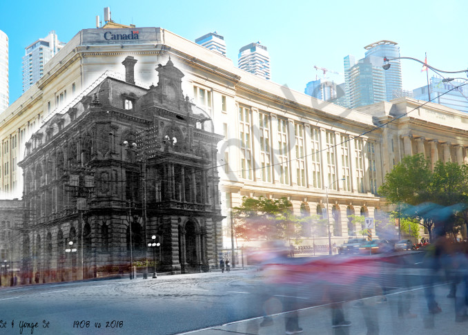 Past Present - Customs House