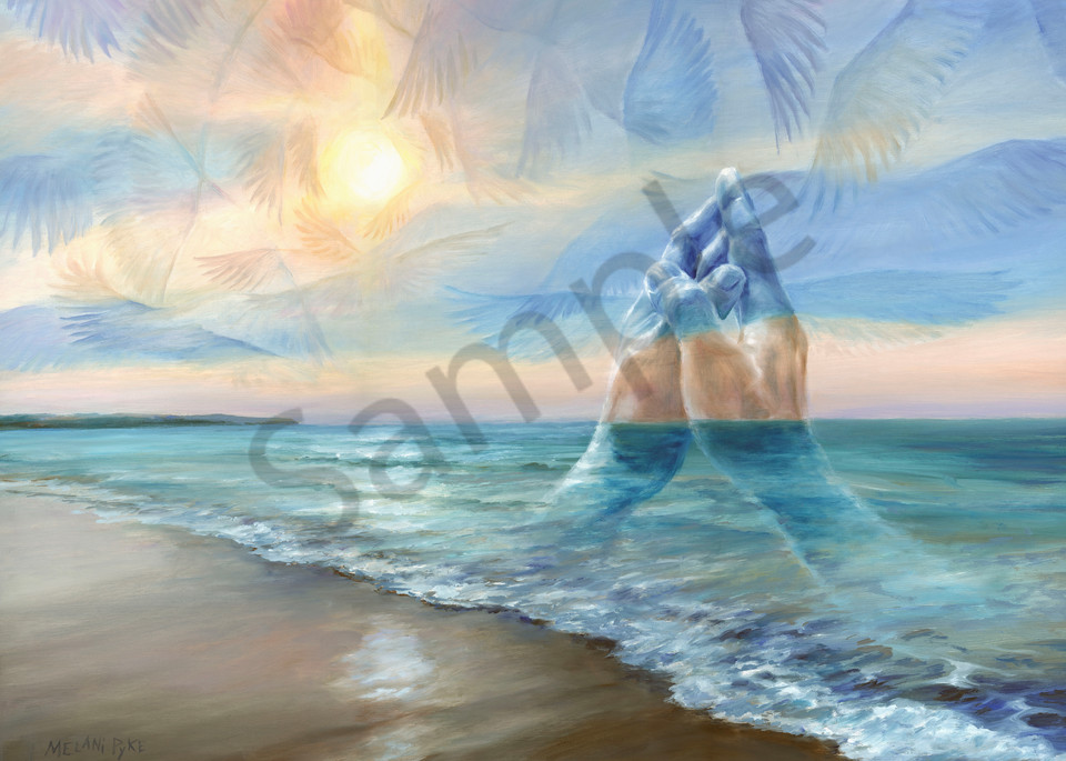 """Praying Hands"" by Canadian Artist Melani Pyke   Prophetics Gallery"
