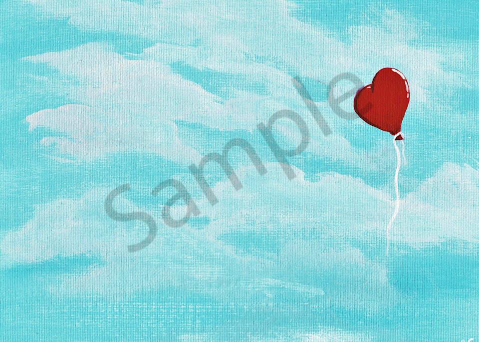 Floating Away Acrylic Art