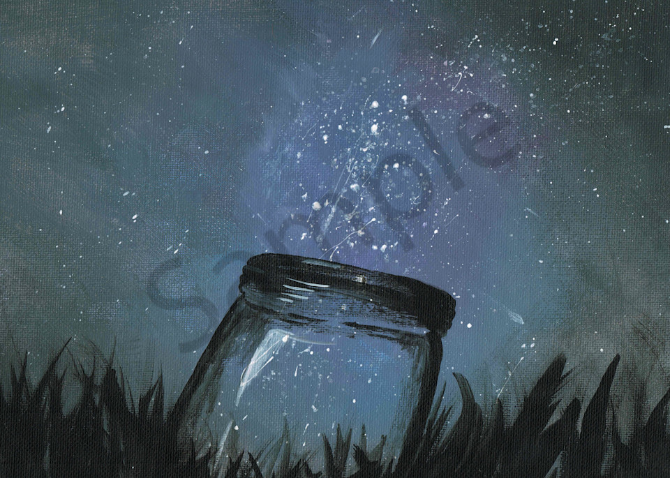 Galaxy in a Jar Artwork