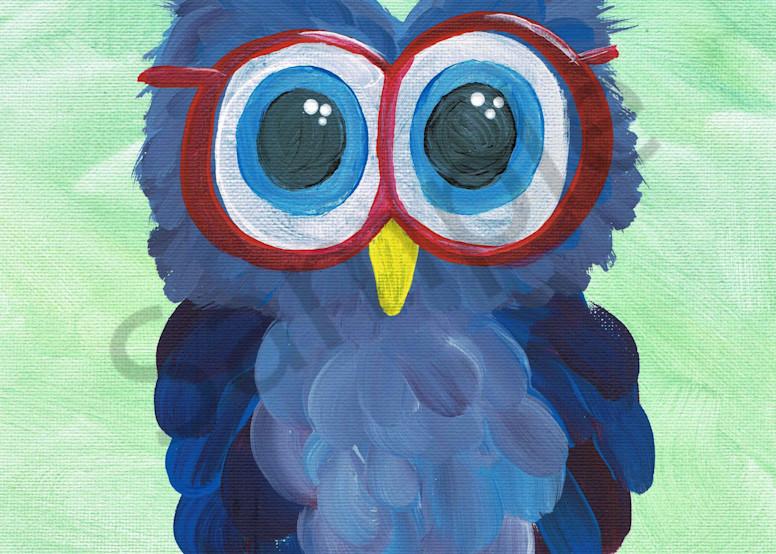 Hooo Needs Glasses Acrylic Artwork