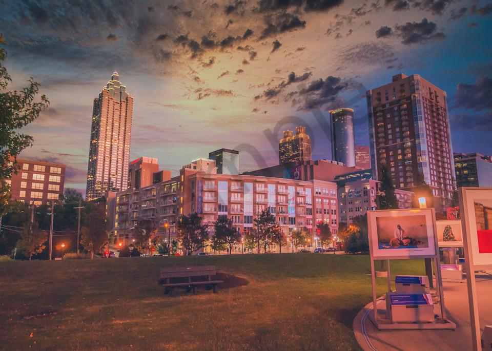 City in Sunset | Susan J Photography, LLC