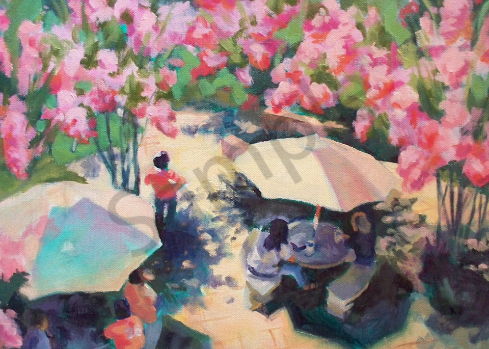 Crepe Myrtles And Lunch Art | Strickly Art