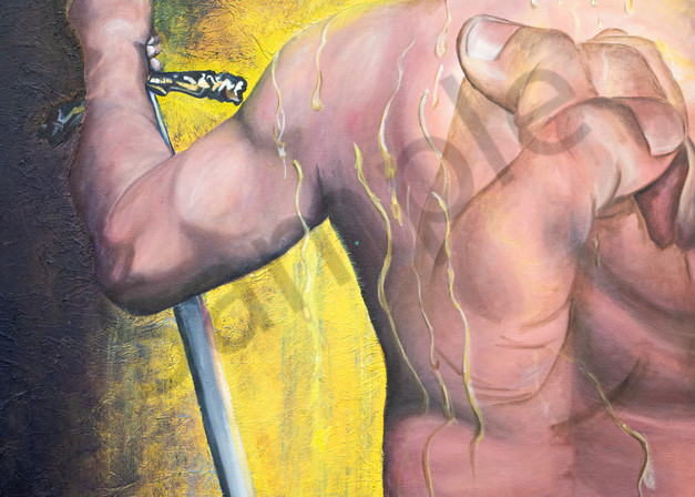 """""""Intercession"""" by South African Artist Trudie Oosthuizen 