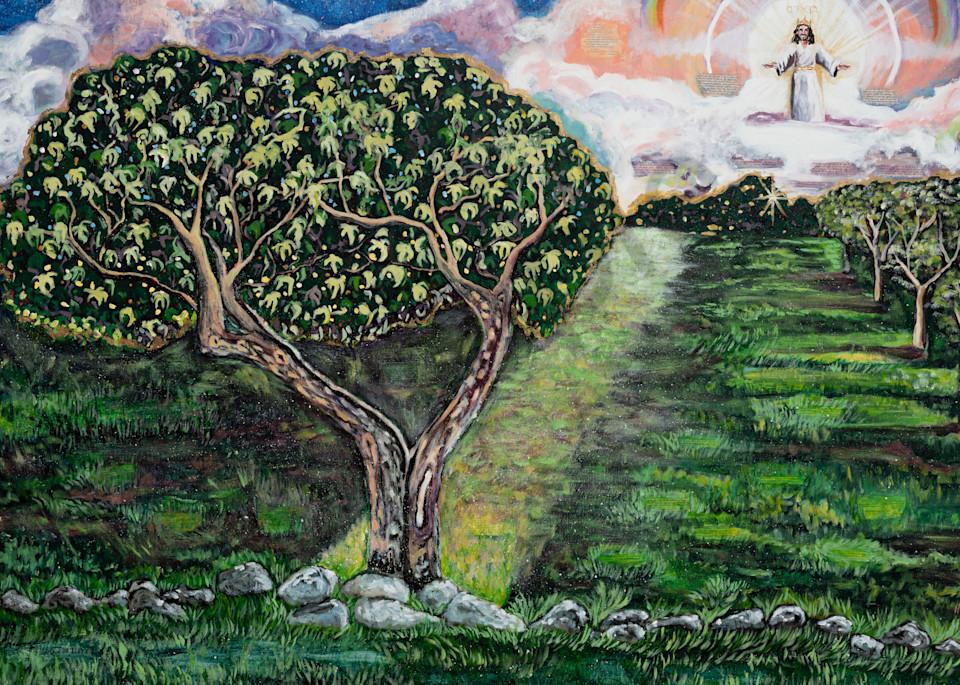 """Son Of Man Returning"" by Arizona Artist Heidi Ngai | Prophetics Gallery"