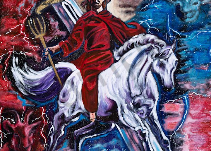 """Man Of War"" by Arizona Artist Heidi Ngai   Prophetics Gallery"