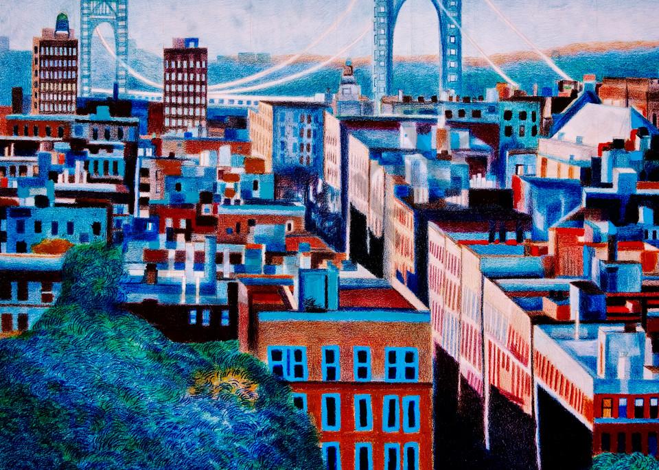 The Scene Of Washington Heights Upper Manhattan Art   lencicio