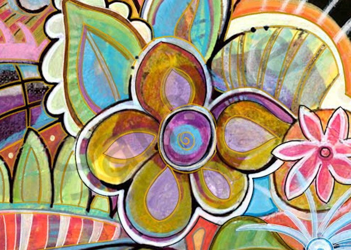 """Happy Thots"" by Georgia Artist Lynne Davis | Prophetics Gallery"