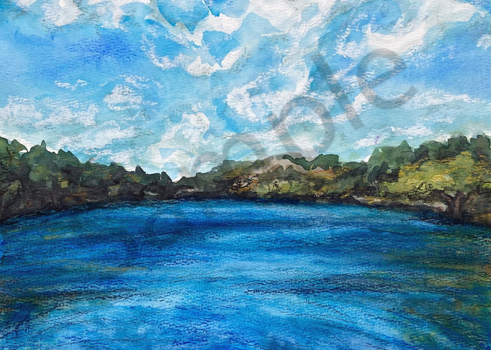 "Fine Art Print ""Surrounding Lake"""