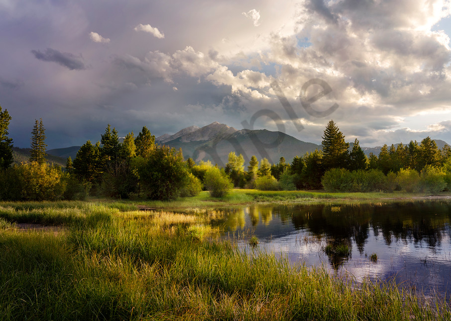 1063 Sunset Lake Dillon, Colorado Art | Cunningham Gallery