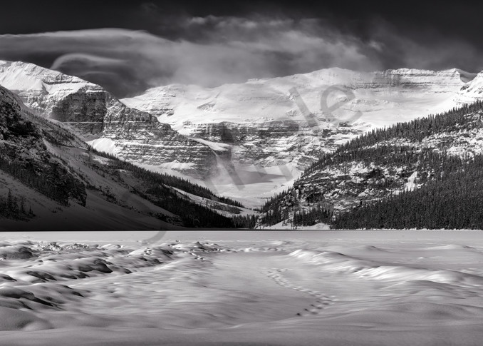Victoria Glacier and Lake Louise in Banff National Park. Canadian Rockies|Rocky Mountains|