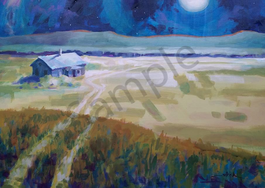 Dakota Moonrise Art | Strickly Art