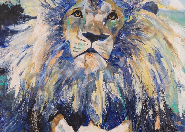 Julianna's Lion by Massachusetts Prophetic Artist Hannah Hopkins | Prophetics Gallery