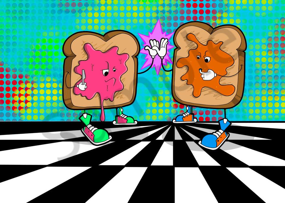 Disco Slap Art | Art by Nabes