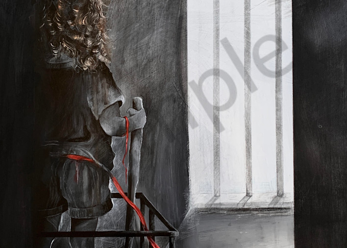 I Don't Belong Here by North Carolina Artist Patti Hricinak-Sheets   Prophetics Gallery