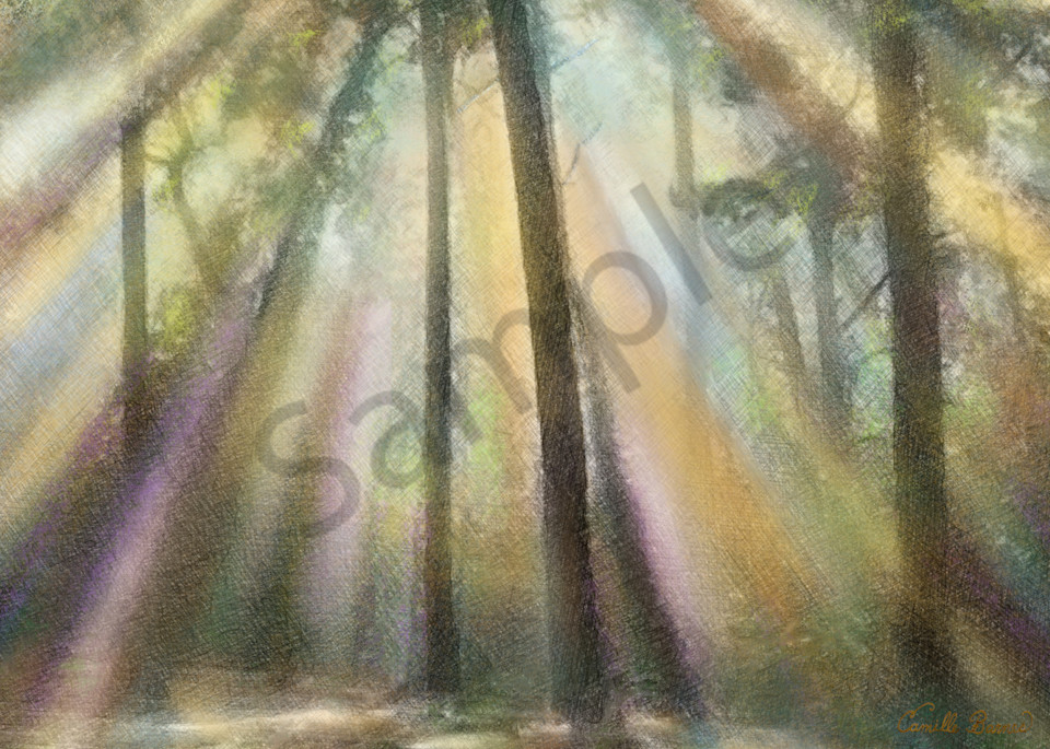 """""""Tranquility by Louisiana Prophetic Artist Camille Barnes \ Prophetics Gallery"""
