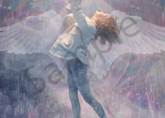 """In His Presence"" by Pennsylvania Digital Prophetic Artist Abigail Cruz | Prophetics Gallery"