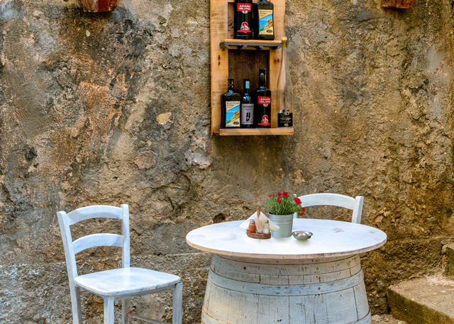 Print Art Tropea Calabria Italy Barrel for Two