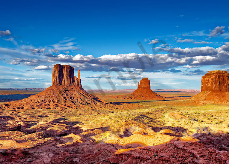 """""""Monument Valley"""" fine art photograph by Fred Neveu."""
