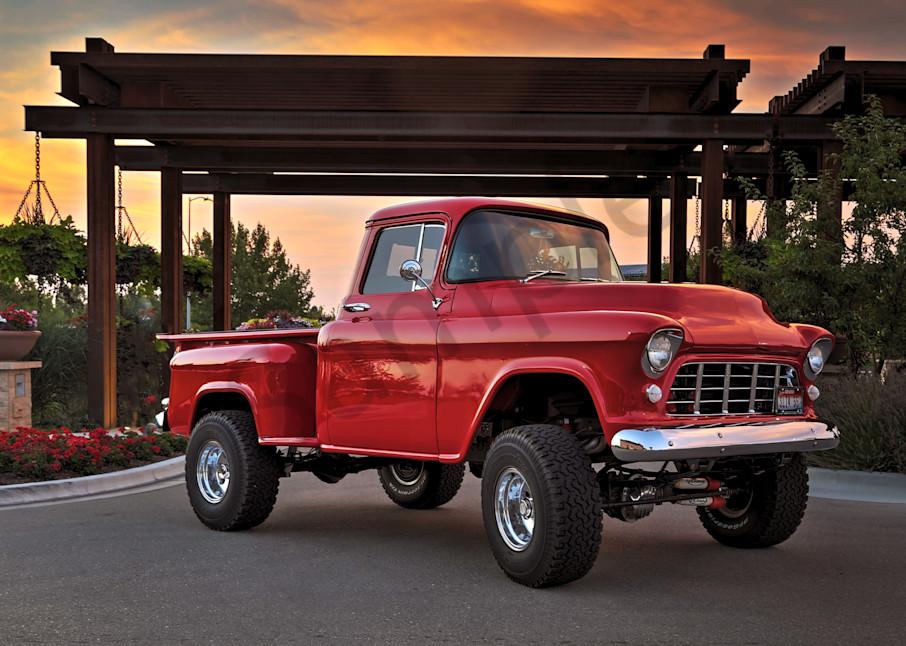 55 Chevy Truck Photography Art | Christensen Photography