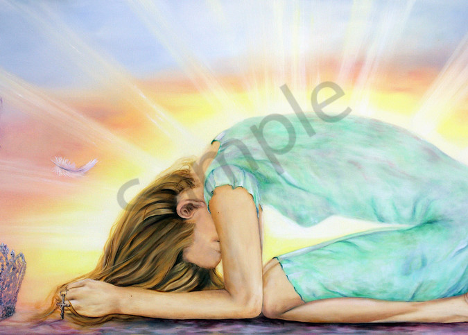 """""""Give It All Back To You"""" by Jeanette Sthamann   Prophetics Gallery"""