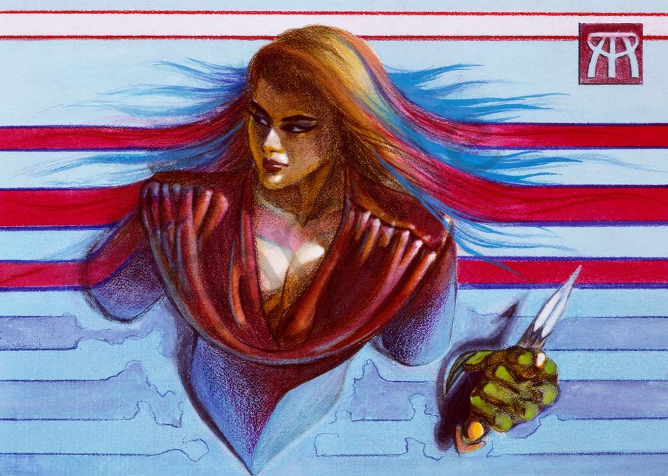 Assassin Art   Melissa A Benson Illustration
