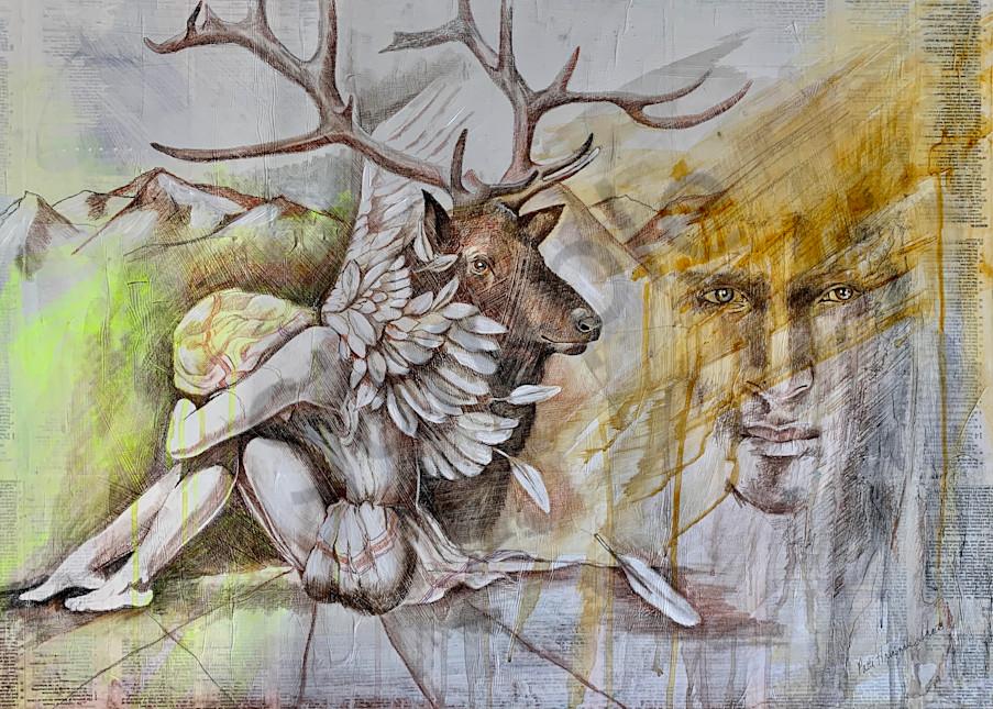 """The Veil"" by North Carolina Prophetic Artist Patti Hricinak-Sheets | Prophetics Gallery"