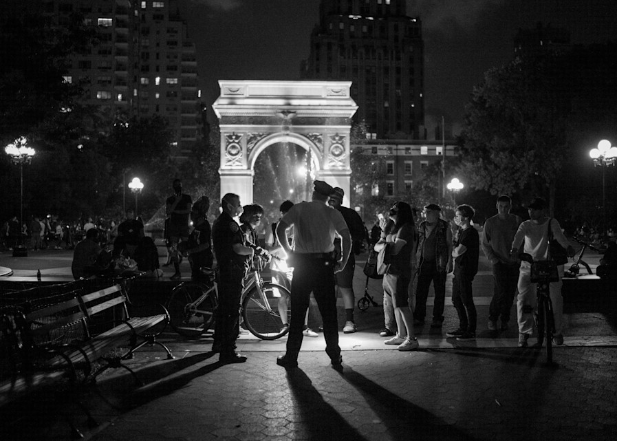 Cop And Kids Blm Photography Art | Insomnigraphic