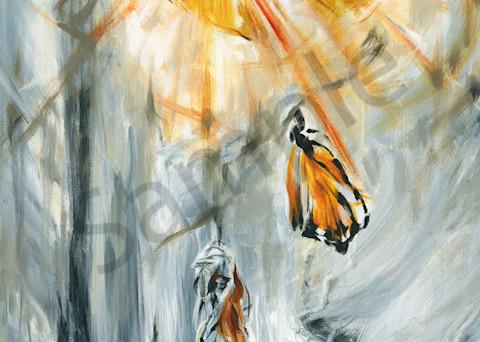 """Monarch Emerging"" by Canadian Prophetic Artist Melani Pyke | Prophetics Gallery"
