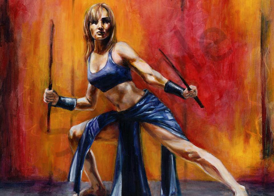"""Woman Arise - Take Up Your Sword"" by Susan Gelt-Garcia | Prophetics Gallery"