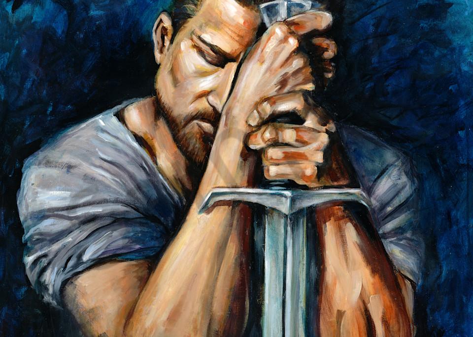 """Dread Champion"" by California Prophetic Artist Susan Gelt-Garcia | Prophetics Gallery"