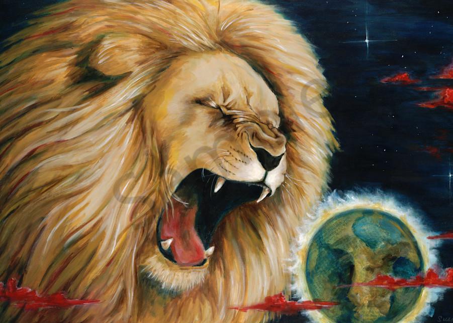 """Amos 3"" by California Prophetic Artist Susan Gelt-Garcia   Prophetics Gallery"