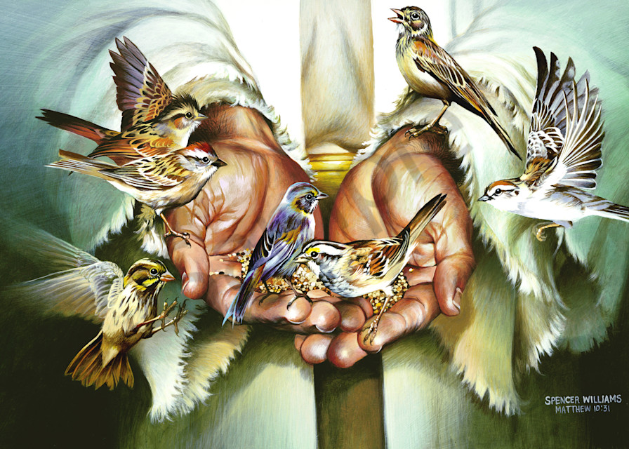 """""""Hands Of Christ"""" by Tennessee Prophetic Artist Spencer Williams   Prophetics Gallery"""