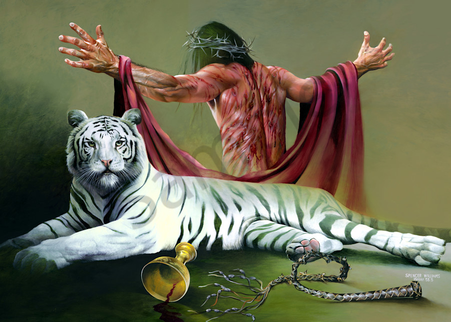 """""""Stripes"""" by Tennessee Prophetic Artist Spencer Williams 